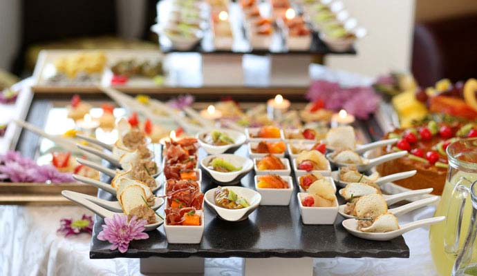 Catering a Senigallia Hotel Mastai Finger food